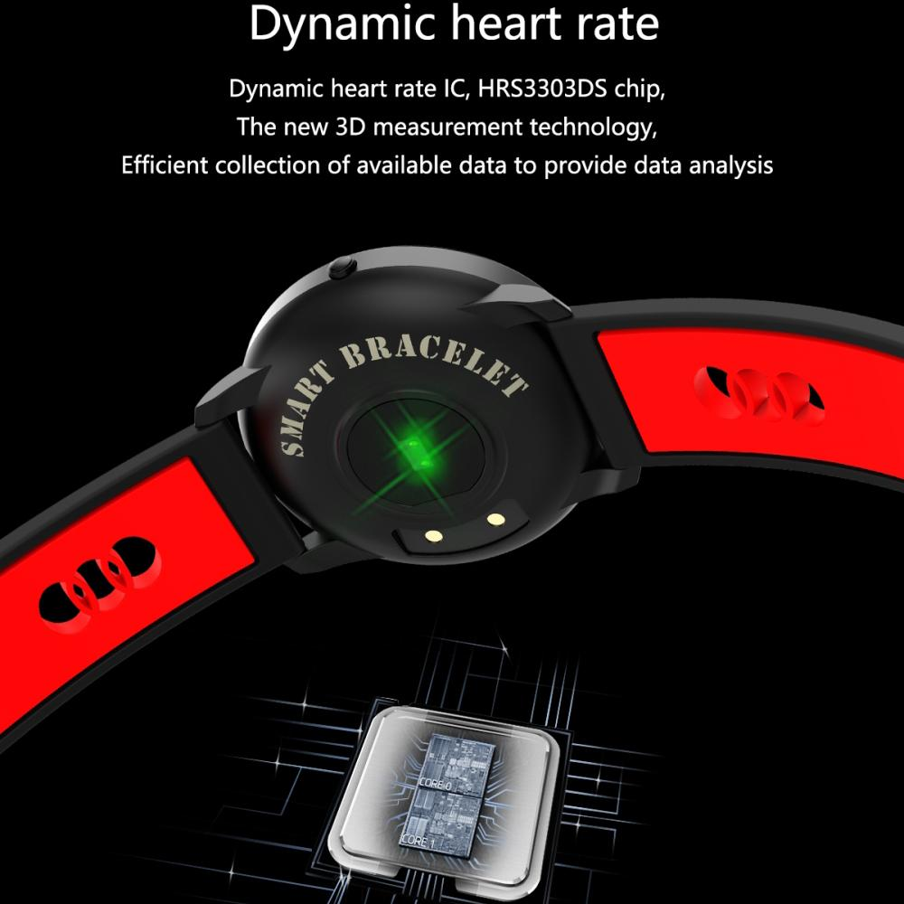 TR Waterproof Smart Fitness Bracelet Tracker and Heart ...